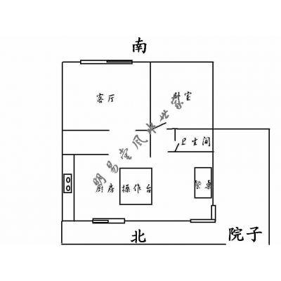 经典风水案例24——室内中央压重物