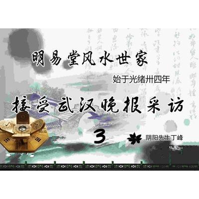 武汉晚报记者采访明易堂——丁峰老师实录3
