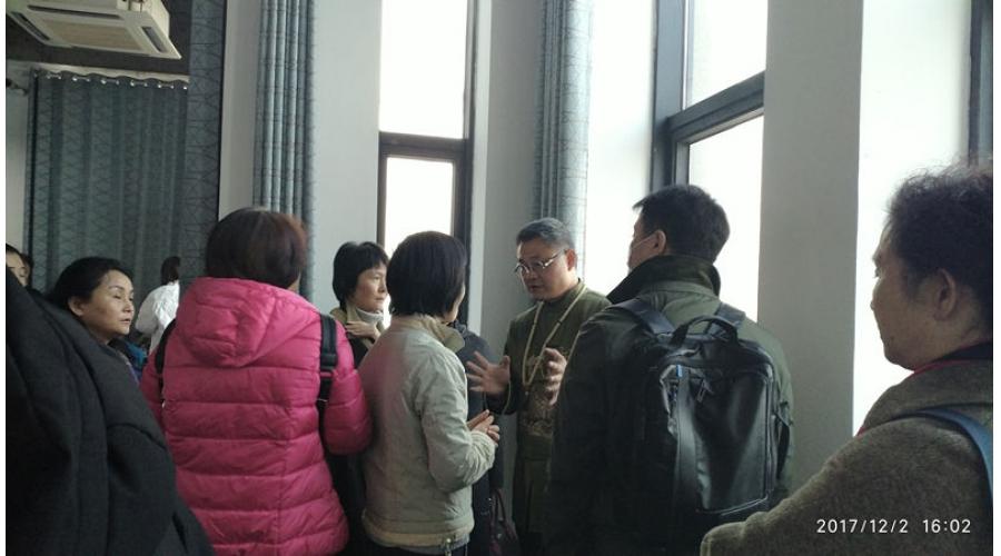 丁峰老师在楚河汉街1818写字楼做风水讲座